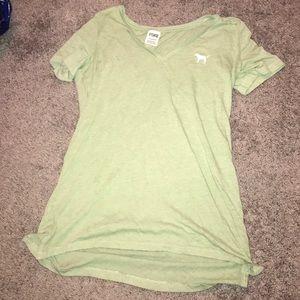 green PINK t-shirt
